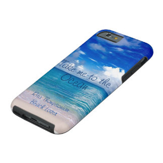 Take Me To The Ocean Cell Phone Case