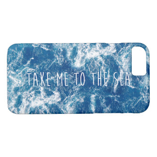 Take me to the sea iPhone 8/7 case