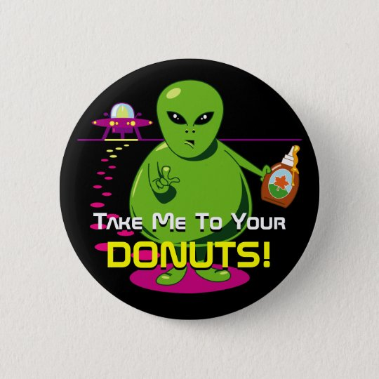Take Me To Your Donuts! 6 Cm Round