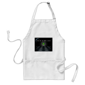 Take Me To Your Leader Standard Apron