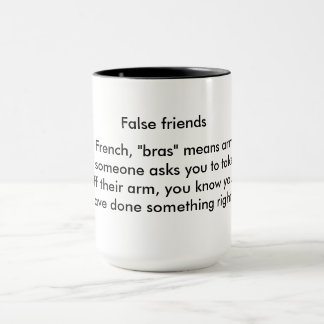 Take my arm off, now! mug