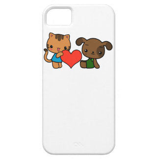 take my heart said the cat to the dog iPhone 5 case