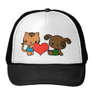 take my heart said the cat to the dog hats