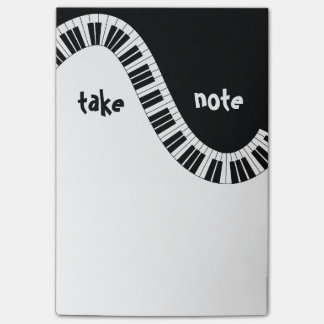 """Take Note"" Musical Post-It Notes"