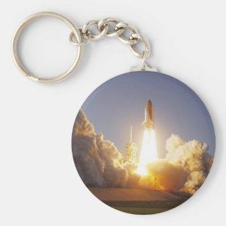 Take Off Basic Round Button Key Ring