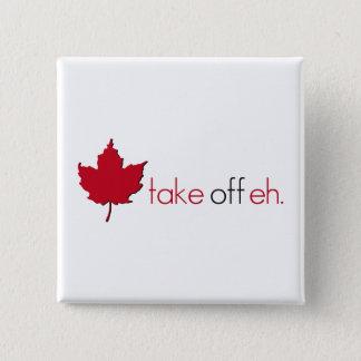 Take Off Eh 15 Cm Square Badge