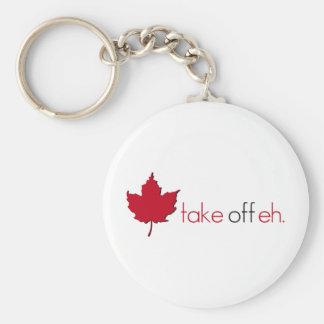 Take Off Eh Key Ring