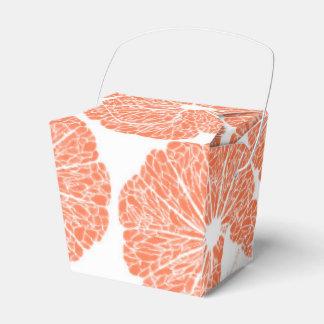 Take Out Favor Box - Grapefruit to Suit Party Favour Box