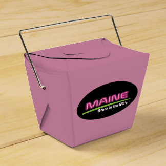 Take Out MAINE STUCK IN THE 80'S Favour Box