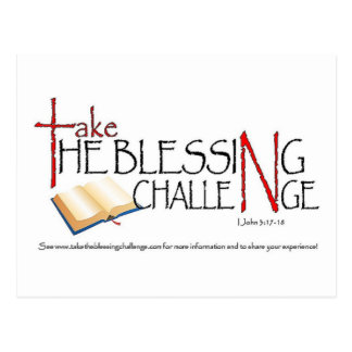 Take_the_Blessing_Challenge Postcard