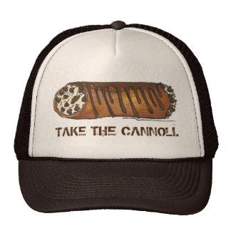 Take the Cannoli Italian Chocolate Cannolis Hat