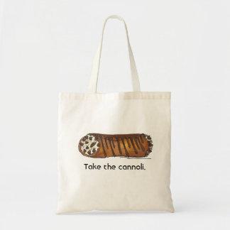 Take the Cannoli Tote Bag
