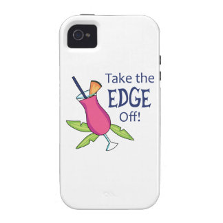 Take The Edge Off! Vibe iPhone 4 Cover