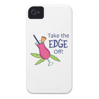 Take The Edge Off! iPhone 4 Case