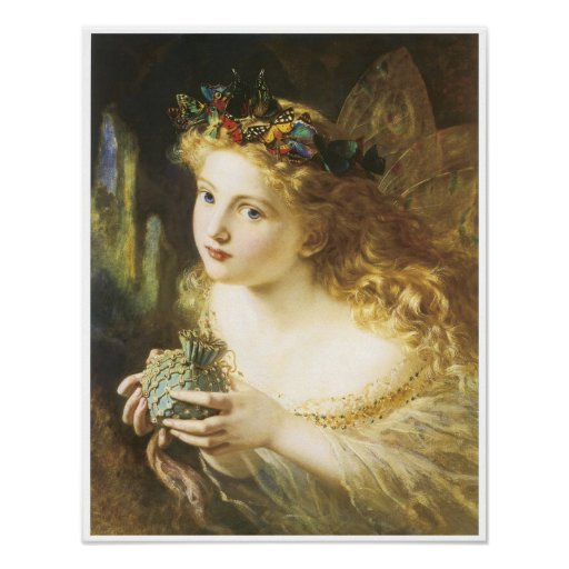 Take the Fair face of Woman, Fairy Painting, 1869 Posters
