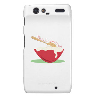 Take The Frosting leave the bowl Motorola Droid RAZR Covers