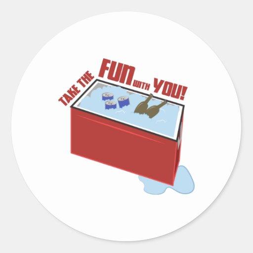 Take the Fun Stickers