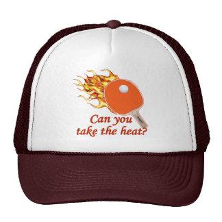 Take the Heat Flaming Ping Pong Cap