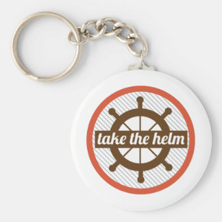 Take The Helm Keychains