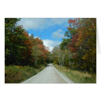 Take the Open Road Note Card