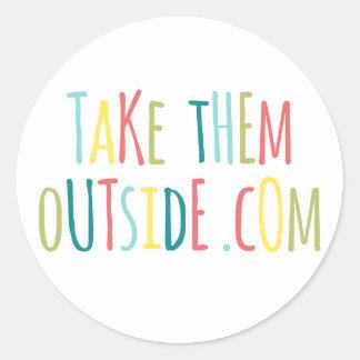 Take Them Outside Sticker
