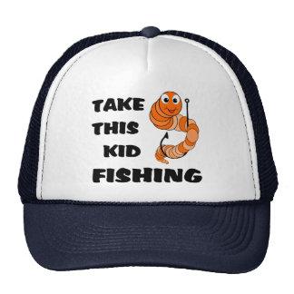 Take This Kid Fishing Cap