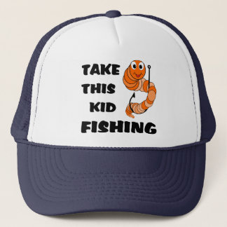 Take This Kid Fishing Trucker Hat