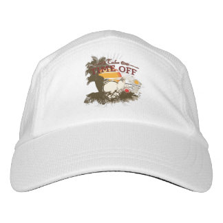 Take Time Off Knit Performance Hat, White Hat