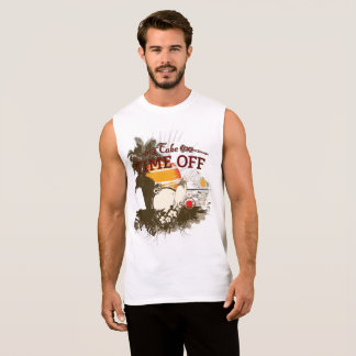 Take Time Off Ultra Cotton Sleeveless T-Shirt