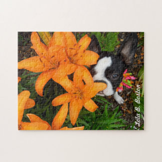 Take time to smell the flowers - puzzle