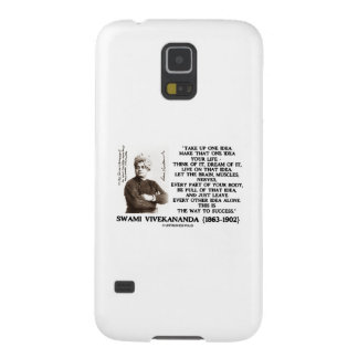 Take Up One Idea Make That Idea Your Life Quote Samsung Galaxy Nexus Covers