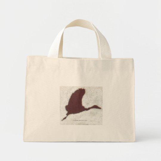 Take Us Home Bird, by Heather Marie Davis Jones Mini Tote Bag