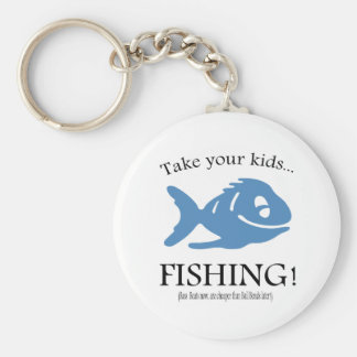 Take your Kids fishing Keychains