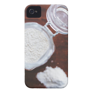 Take your Life with a Pinch of Flour iPhone 4 Covers