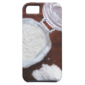 Take your Life with a Pinch of Flour Tough iPhone 5 Case