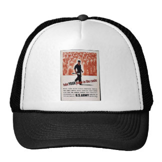Take Your Place In The Ranks Trucker Hats