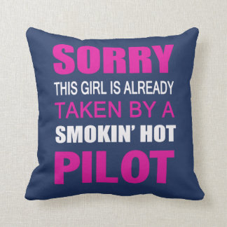 Taken by a Pilot Cushion