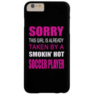 Taken By A Soccer Player Barely There iPhone 6 Plus Case
