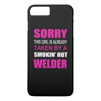 Taken By A Welder iPhone 7 Plus Case