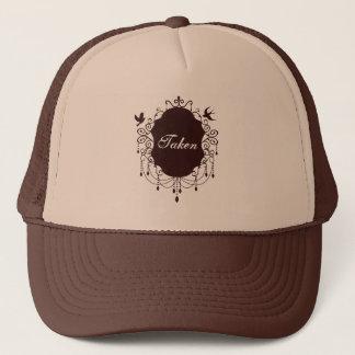 Taken Cute Gothic Valentines day hat brown