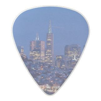 Taken from the roof of the prison on Alcatraz Acetal Guitar Pick