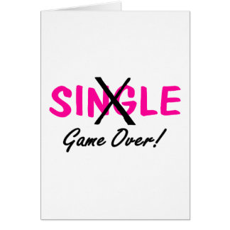 Taken (Game Over Pink) Greeting Card