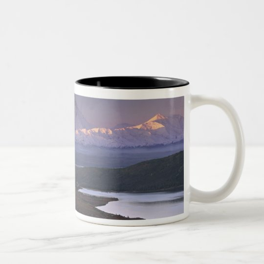 Taken in early September in Denali National Park Two-Tone Coffee Mug