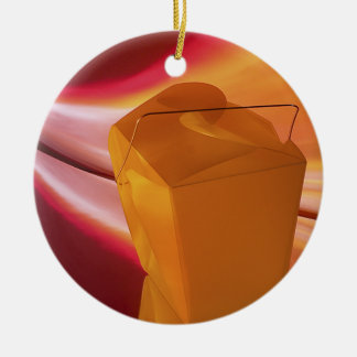 Takeout Reflections Christmas Ornament