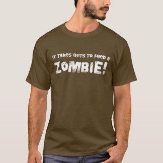 Takes Guts Zombie T-shirt - Romero Style Dead Tee