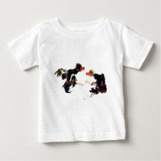 Takeuchi 栖 鳳 gamecock fighting chicken chicken chi t shirt