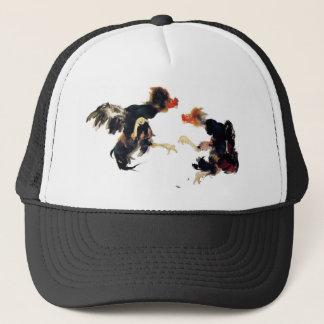 Takeuchi 栖 鳳 gamecock fighting chicken chicken trucker hat