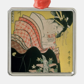 Takigawa from the Tea-House, Ogi Christmas Ornament