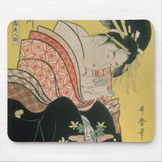Takigawa from the Tea-House, Ogi Mouse Mat