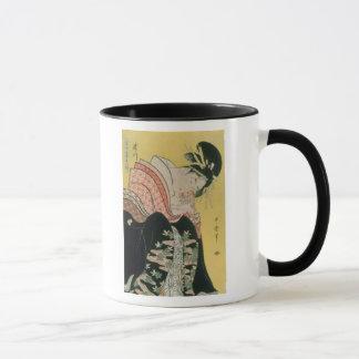 Takigawa from the Tea-House, Ogi Mug